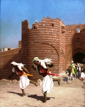 The Runners of the Pasha, Jean-Léon Gérôme (New York Historical Society