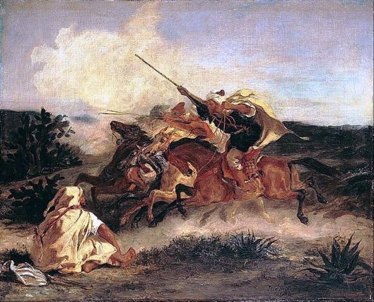 Eugène_Delacroix_-_Fantasia_Arabe_-_Google_Art_Project