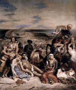 Massacre at Chios, 1824