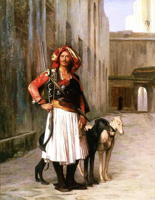 Jean-Leon_Gerome_XX__Arnaut_from_Cairo_1867