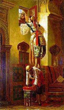 A Tryst,1844 (wikiart.org)