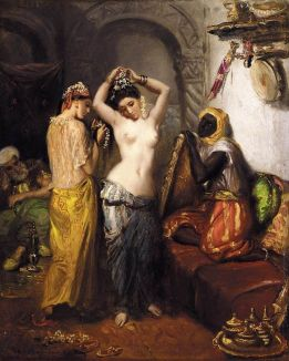 Harem by Théodore Chassériau