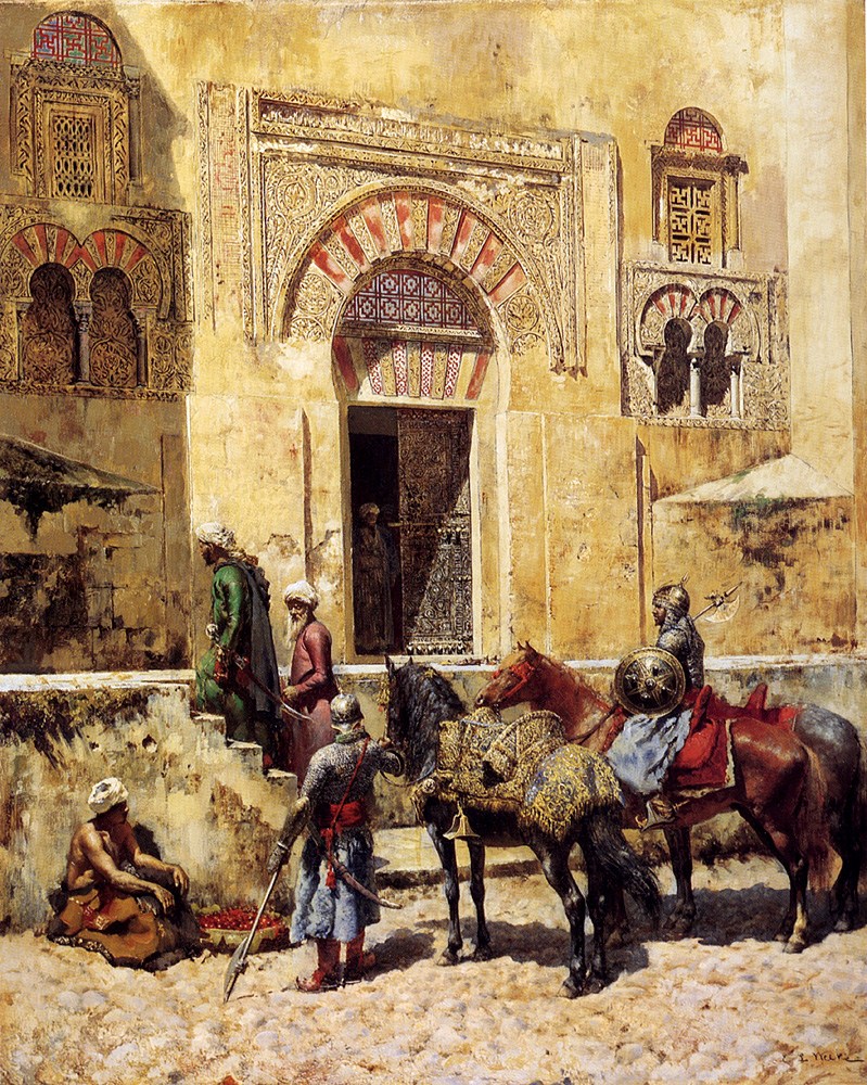 Weeks_Edwin_Entering_The_Mosque_1885