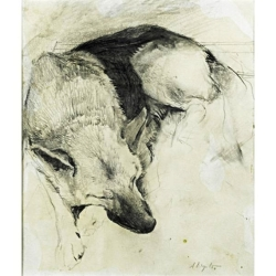 andrew-wyeth-german-shepherd
