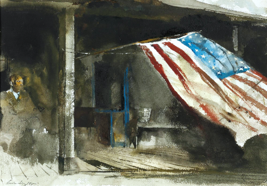 andrew-wyeth-independence-day