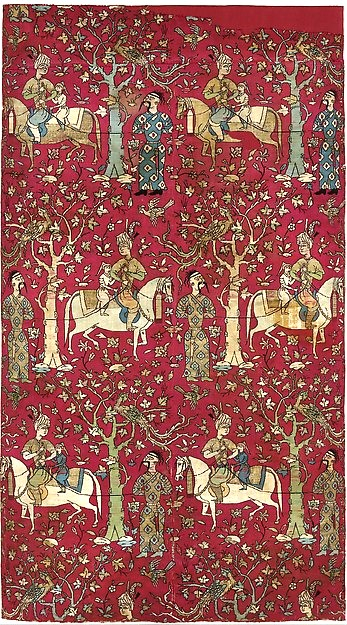 Safavid Courtiers Leading Georgian Captives