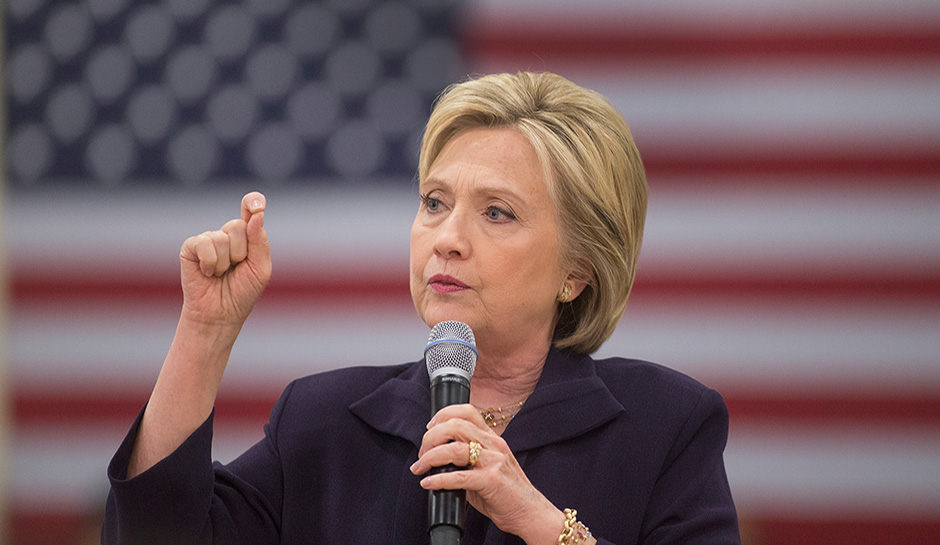 Hillary Clinton Holds Town Hall In South Carolina Ahead Of Primary