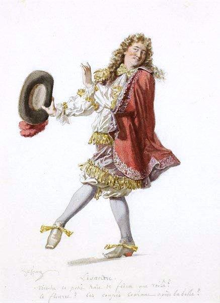 edmond-geffroy-1804-1895-moliere-et-ses-personnages_-suite-de-17-aquarelles-originales-hellip