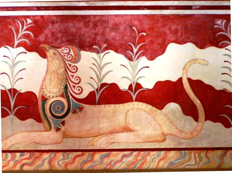 knossos_fresco_in_throne_palace1