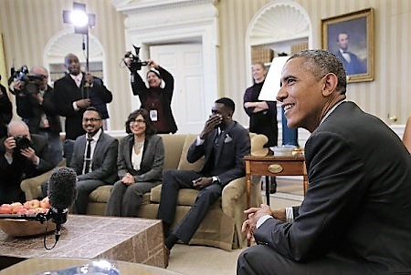 President Obama Meets Beneficiaries Of The Deferred Action For Childhood Arrivals Policy