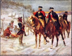 Lafayette and Washington at Valley Forge