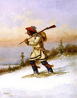 Indian Trapper on Snowshoes, Photo credit: Amazon)