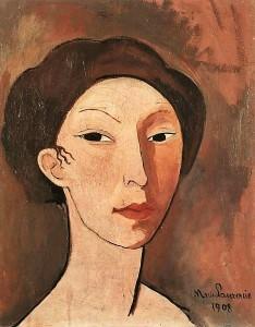 posterlux-laurencin_marie_1901_1953-marie_laurencin_1908_autoportrait