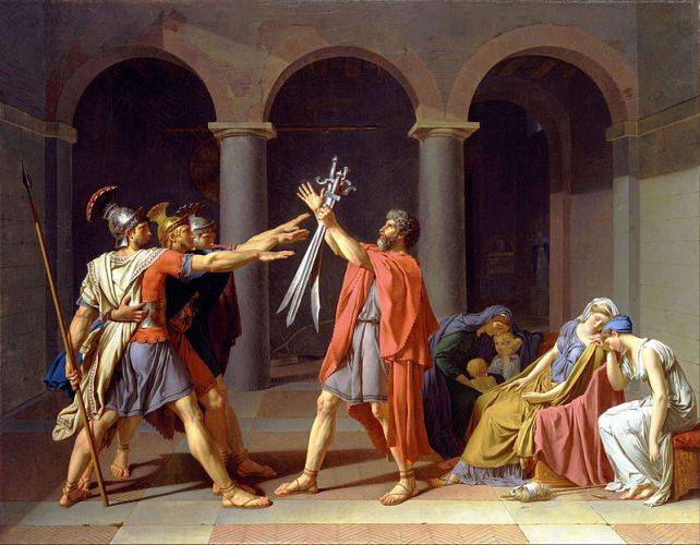 Jacques-Louis_David_-_Oath_of_the_Horatii_-_Google_Art_Project (1)