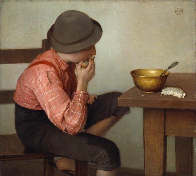 Ozias_Leduc_-_Boy_with_Bread
