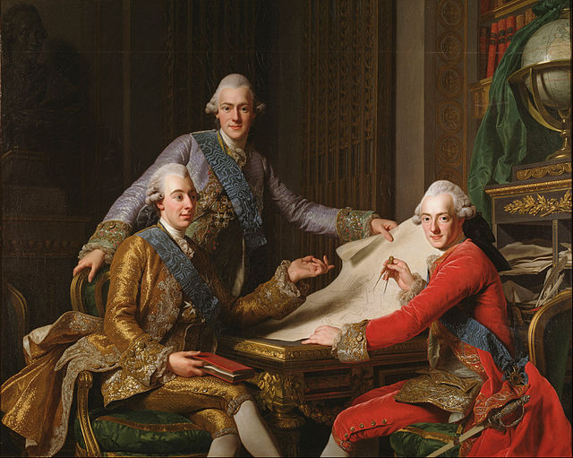 640px-Alexander_Roslin_-_King_Gustav_III_of_Sweden_and_his_Brothers_-_Google_Art_Project