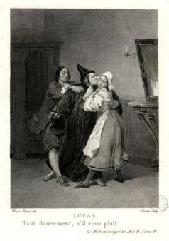 le médecin malgré lui par Horace Vernet (1)