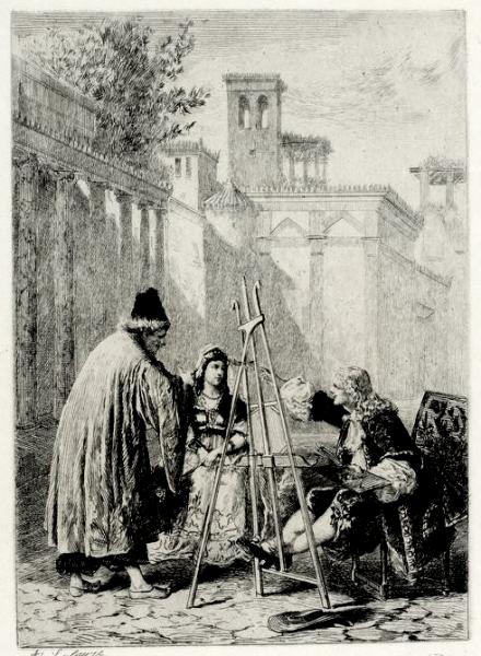 Le Sicilien par Lalauze (1)