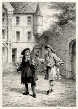 Gravure Edmond Hédouin