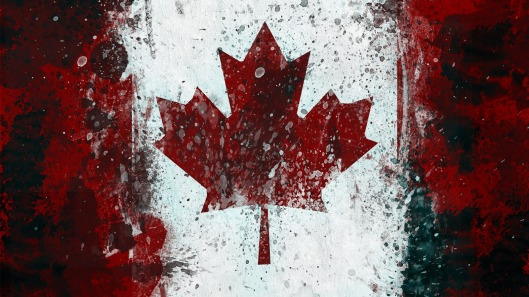 Canada-Flag-Art-HD-Wallpaper