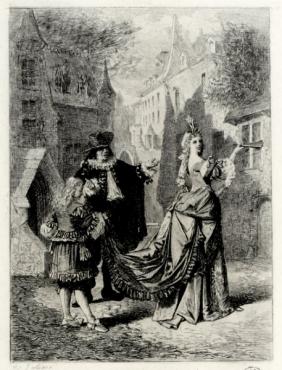 Gravure Lalauze (théâtre.documention)