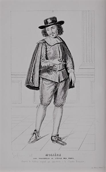 Molière dans Sganarelle de l'école des maris (3)