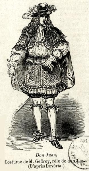 Costume de Don Juan
