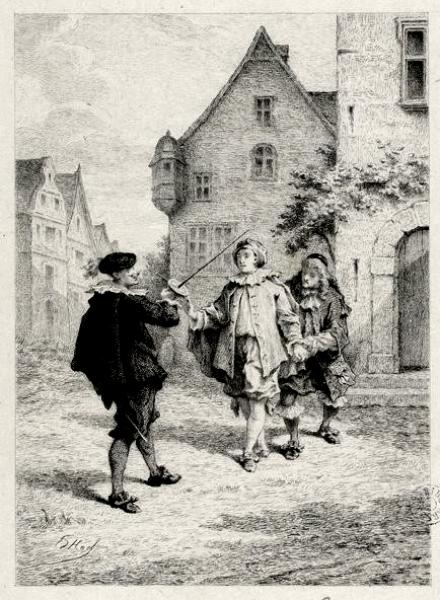 Les fourberies de Scapin par Ed. Héd. (1)