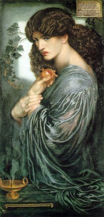 Proserpina by Dante Gabriel Rosetti