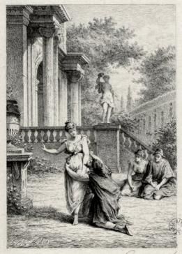 Amphitryon par Hédouin