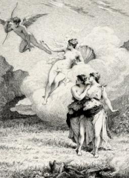 Les Amants magnifiques par Edmond Hédouin