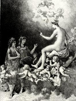 Les Amants magnifique par Adolphe Lalauze