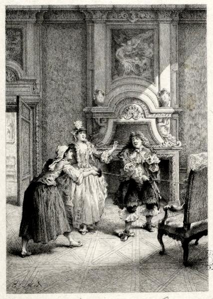 Le Bourgeois gentilhomme par Ed. Héd.