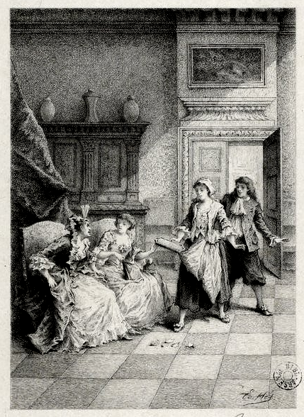 La comtesse d'Escarbagnas par Ed. Héd.