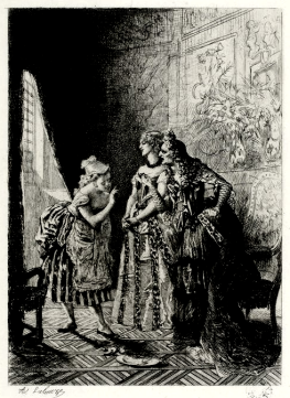 La comtesse d'Escarbagnas par Lalauze (1)