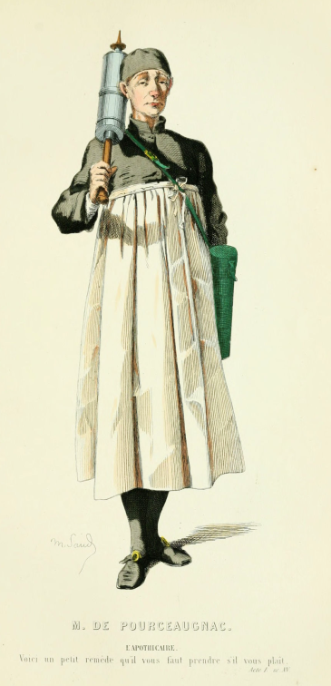 L'aphothicaire (Monsieur de Pourceaugnac) (2)