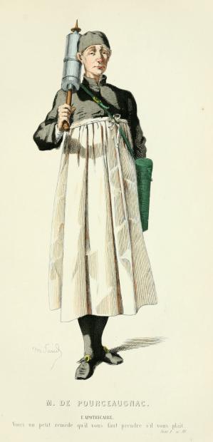 L'aphothicaire (Monsieur de Pourceaugnac)