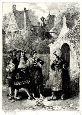Monsieur de Pourceaugnac par Lalauze