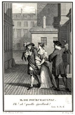 Monsieur de Pourceaugnac par Moreau le Jeune