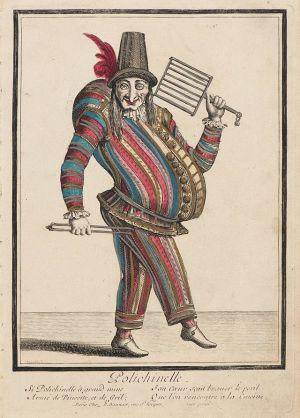 Polichinelle,_ca._1680_-_Nicolas_Bonnart