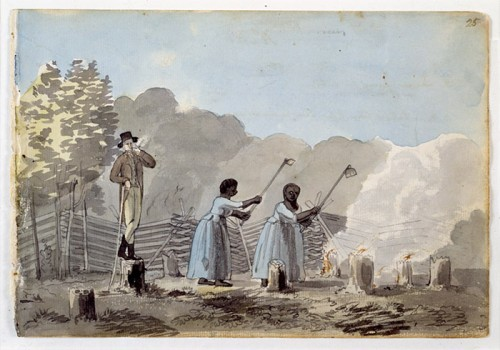 New_France_4_3_Overseer-and-slaves-Latrobe-500x350
